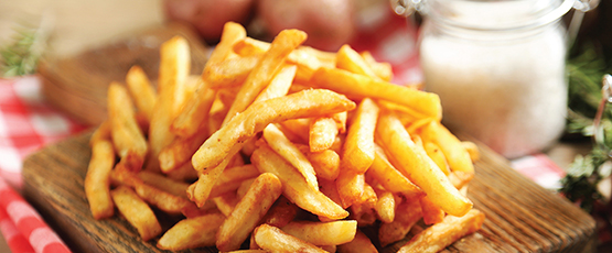 FRENCH FRIES & ONION RINGS