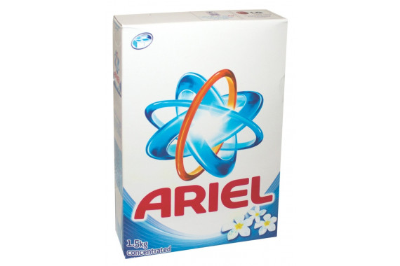 ARIEL WASHING DETERGENT BLUE 1.5 KG