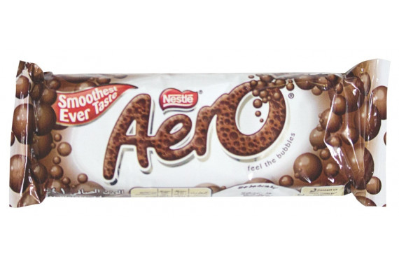 AERO MEDIUM BAR WITH MILK - 36 G