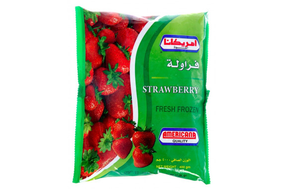 AMERICANA - FROZEN STRAWBERRIES- 400 G