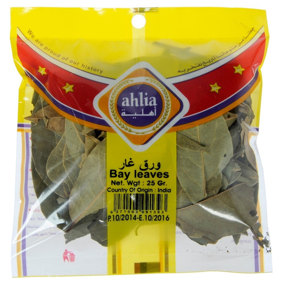 AHLIA BAY LEAVES 25 G