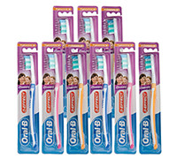 ORAL-B TOOTH BRUSH CLASSIC 9 PIECES