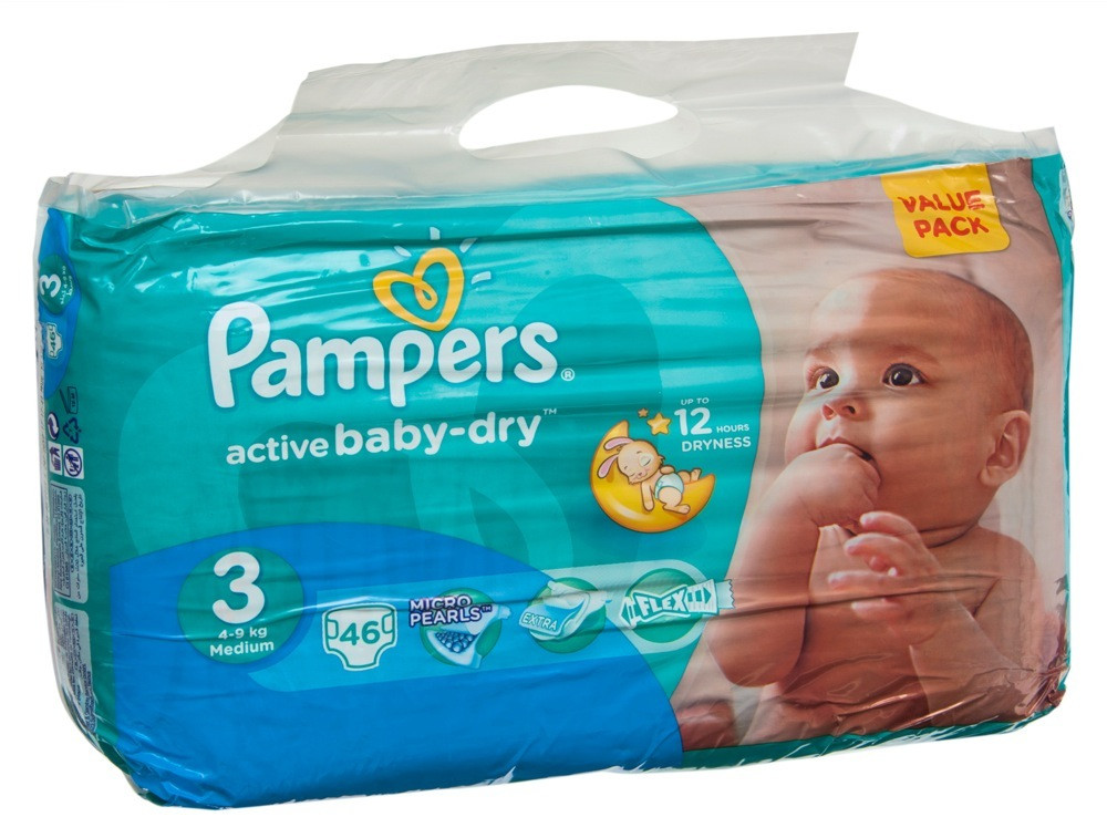 PAMPERS BABY DIAPER PREMIUM CARE MB S4 100'S