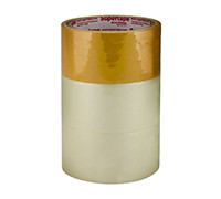 "CLEAR TAPE 2"" 2 + 1 BROWN TAPE"