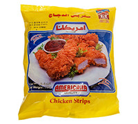 AMERICANA- PLAIN CHICKEN STRIPS - BAG - 750 G