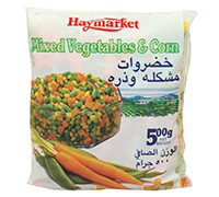 HAYMARKET MIX VEGETABLES WITH CORN 500 G
