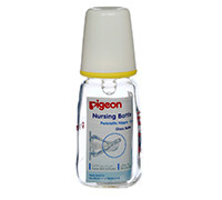 PIGEON PERISTALTIC NURSING BOTTLE BPA(SMALL) 120 ML