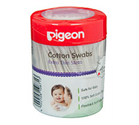 PIGEON COTTON SWABS EXTRA THIN STEM 200s