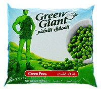 GREEN GIANT GREEN PEAS 900 G