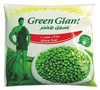 GREEN GIANT GREEN PEAS 450 G