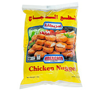 AMERICANA CHICKEN NUGGETS BAG 1 KG