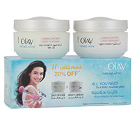 OLAY NEW WHITE DAY+NIGHT 2X50GM