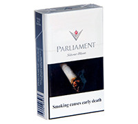 PARLIAMENT CIGARETTES SILVER BLUE