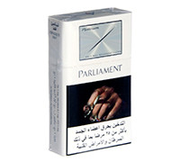 PARLIAMENT CIGARETTES PLATINUM BLUE