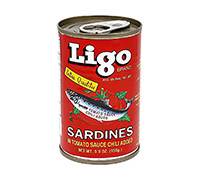 LIGO SARDINE RED HOT 155G
