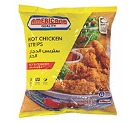 AMERICANA CHICKEN STRIPS SPICY 750G