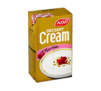 KDD DESSERT CREAM WITH ROSE WATER 125ML