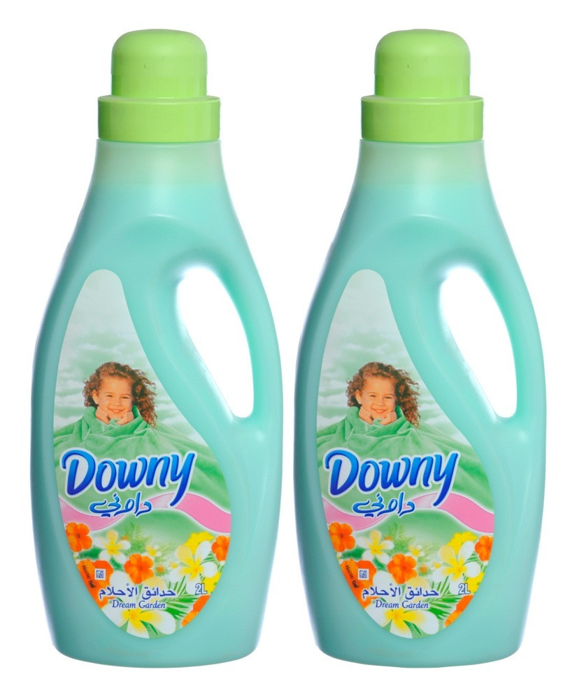 DOWNY FABRIC SOFTENER GREEN- 2X2 L