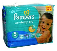 PAMPERS BABY DIAPER JUNIOR S5 VP 38'S