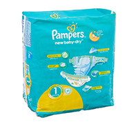 PAMPERS BABY DIAPER NEW BORN S1 21'S