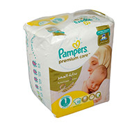 PAMPERS BABY DIAPER PREMIUM CARE S1 22'S