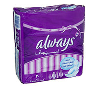 ALWAYS SANITARY PADS SUPER PLUS - 30'S