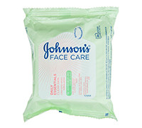 JOHNSON'S FACIAL CARE & CLEANSIG WIPES FOR OILY SKIN - 25'S