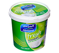 ALMARAI PLAIN YOGHURT- FULL FAT- 1 KG