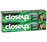 CLOSEUP MINT GREEN TOOTHPASTE - 120 ML
