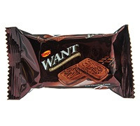 WANT- SANDWICH BISCUITS WITH CHOCOLATE - 45 G