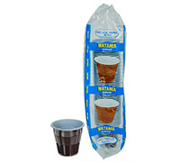WATANIYA- BROWN COFFEE CUPS- 4 OZ - 50'S