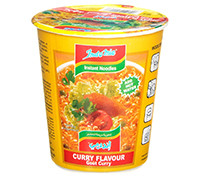 INDOMIE- INSTANT NOODLES WITH CURRY FLAVOR- CUP 60 G